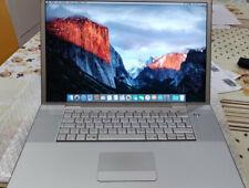 MacBook Pro da 17'' Intel core 2 Duo T7700 2,4 GHz 4GB ram -PERFETTO-