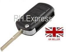 New* 3 button flip key fob case For Land Rover Discovery 3 Range Rover +A73+