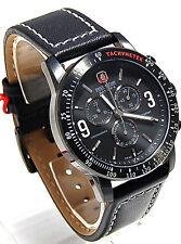 Swiss Military Herren Chrono mit Leder Armband 06-4267.13.007 SM104