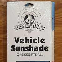 Vintage New Unopened 1997 Looney Tunes Vehicle Sunshade One Size Tasmanian Devil