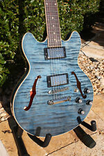 Gibson ES-339 Figured Custom Shop Electric Guitar - Satin Blue - NEW!