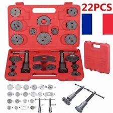 22 pièces Coffret Set repousse piston d étrier de frein Kit d'outils voiture FR