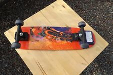 Complete Skateboard.  Used and usable.Red strips.  Fisher Price,Inc,Mattel