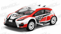 MicroX Racing 1/24 Scale Micro RC Rally Car Electric RTR Ready to Run 2.4Ghz RED