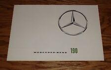 Original 1962 Mercedes Benz 190 Foldout Sales Brochure 62