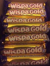 Cadbury Wispa Gold Standard Size Bar (Pack of 24). Cheapest On Ebay.long Date..