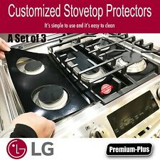 LG Stove Protectors, Custom cut to fit your Stove, Lifetime Warranty