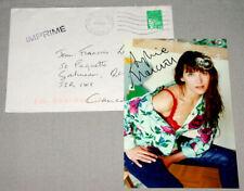 Original Actress Sophie Marceau Signed 6 x 4 Photo LOA