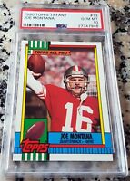 JOE MONTANA 1990 Topps Tiffany PSA 10 RARE SP 3000 Made San Francisco 49ers HOF