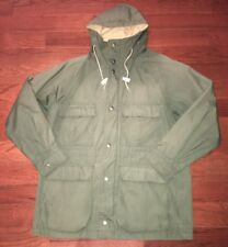 Carter's By H.W Carter & Sons Mens Green Full Zip Hooded Jacket 22 Inch Pit M