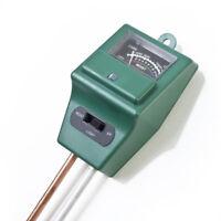 3 in1 PH Meter Soil Tester Erde Licht Feuchtigkeit Messgerät Boden Wassertester