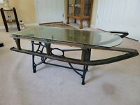 Early 1900's Antique Sled Coffee Table