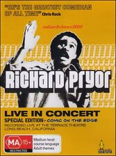 RICHARD PRYOR - LIVE in CONCERT - Funny Stand-up Comedy - Special Edition DVD