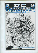 DC UNIVERSE REBIRTH #1 (9.2 OR BETTER) 1:10 REIS SKETCH VARIANT