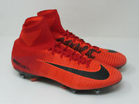 MENS NIKE MERCURIAL SUPERFLY DF SG-PRO SOCCER CLEATS 831956 617-SIZE 12.5
