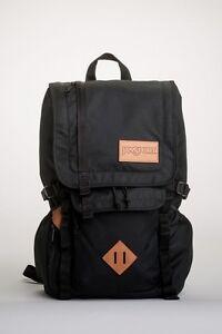 Jansport Backpack Hatchet Black Skate School Travel Bag