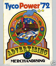 1972 PAPER AD 16 PG Tyco Toy Company Advertising & Merchandising POP Art Plan