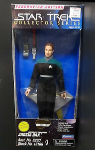 "9"" Lt Com Jadzia Dax Playmates Star Trek DS9 Fed Edition Figure Unopened 1997"