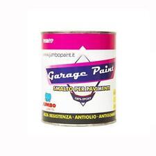 Garage Paint One Resina Smalto Per Pavimenti Monocomponente Pro Colori Kg 5