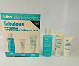 Bliss Fabulous 3 Step Spa Facial As Pictured Read Description Free Shipping