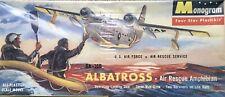 Monogram 1/72 U.S. Air Force Sa-16B Albatross Air Rescue Amphibian kit # P20-149