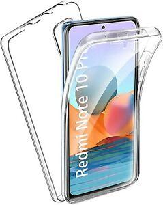 Xiaomi Redmi Note 10 PRO 360 Grad Full Cover Hülle Case Schutzhülle Handyhülle