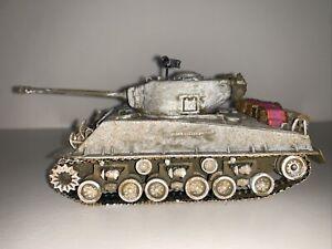 Corgi WWII M4A3EB Sherman Tank Blockbuster 3D Company B, US Army Unboxed