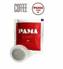 200 Cialde Caffè Pama Filtro Carta ESE 44mm miscela rossa gusto Robusto