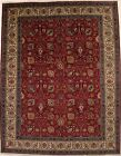 Handmade Semi Antique Classic 10X13 Floral Design Oriental Rug Home Decor Carpet
