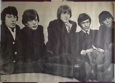 ROLLING STONES POSTER ORIGINAL 1967 PERSONALITY POSTER INC / RARE