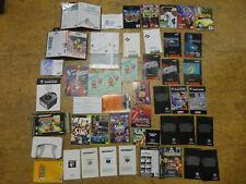 Super Nintendo N64,SNES,Gamecube,Sega Anleitungen,Beizettel etc.