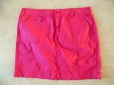 Ladies GH Bass and Company Stretch Pink Skirt Size 12