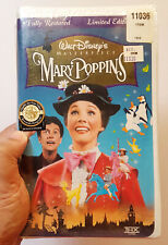 SEALED 1964 Mary Poppins MOVIE (VHS, 1997, Masterpiece) THX Limited EDITION