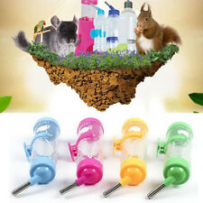 125ML Rabbit Dringking  Small Animal Dispenser Hamster Parrot Pet Water Bottle
