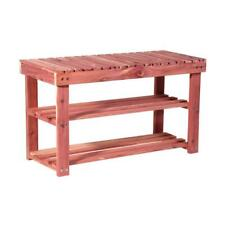 17.5 In. Cedar Shoe Bench