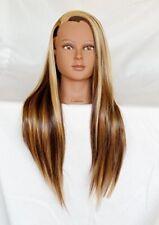 Synthetic Fiber Mannequin Training Head for Practice Hair Styles (Bestseller)