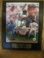 Minnesota Twins Kirby Puckett August 5,2001 Hall of Fame Limited Edition Picture