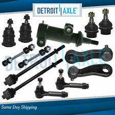 13-pc Complete Front Suspension Kit for 1999-2007 Chevy Silverado 1500 4WD 4x4