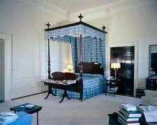 President John F. Kennedy's bedroom in the White House 1962 New 8x10 Photo