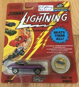 Johnny Lightning Purple Custom XXE Diecast Car - New In Box