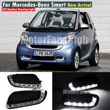 Luci Diurne LED Daytime DRL Per Mercedes Benz Smart Fortwo 2008 2009 2010 2011