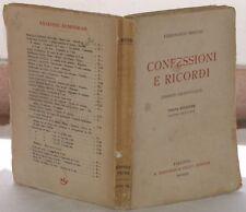 1922 MARTINI CONFESSIONI E RICORDI RISORGIMENTO TOSCANA