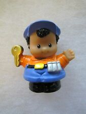 Fisher Price Little People MICHAEL with KEY & COINS Ice Cream Truck Driver Rare!