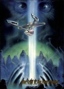 1993 Star Trek Master Series Trading Cards #88 Star Trek V: The Final Frontier