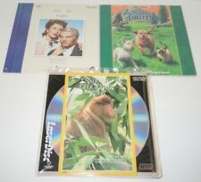 Laserdisc LOT 3 Carrie Disney Incredible Journey National Geographic Mangrove
