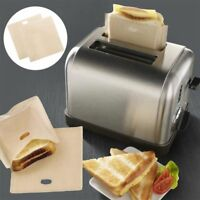 Tool Safety 5PCS Heat Resistant Non Toxic Toaster Reusable Toast Bags Sandwich