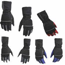 Gants textile pour motocyclette Hiver Homme
