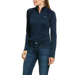 Ariat Sunstopper 2.0 Baselayer Navy