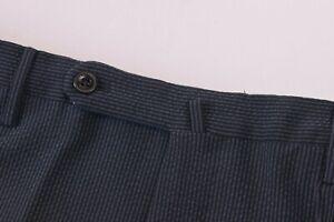Incotex NWT Matty Silksucker Modern Fit Dress / Casual Pants Navy 35 US $475
