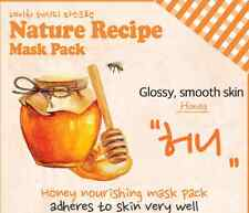 Korean Cosmetics Secret Key 4 Nature Recipe Sheet Masks/US Seller